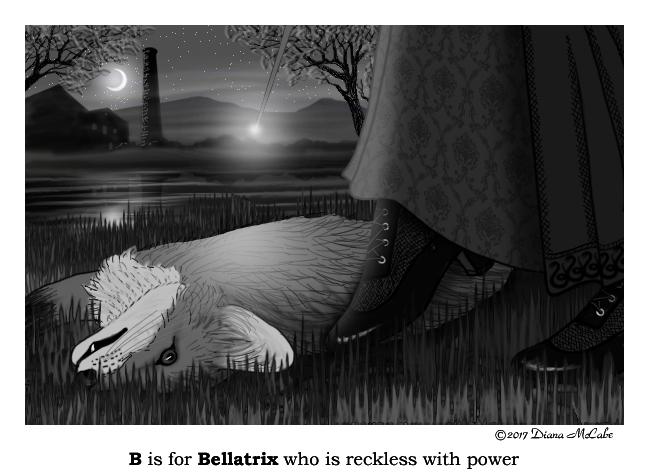 B is for Bellatrix
