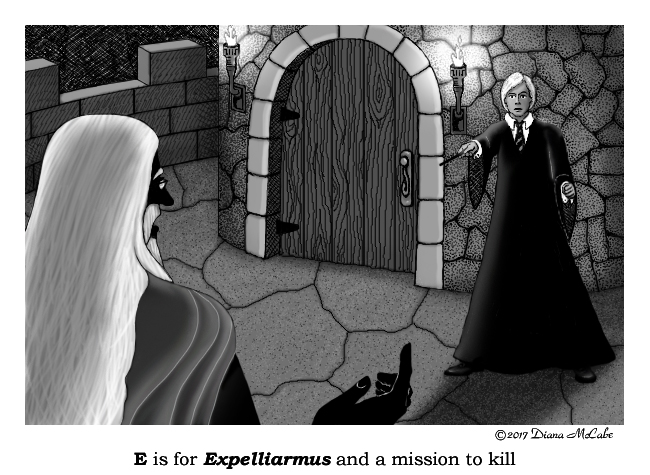 E is for Expelliarmus