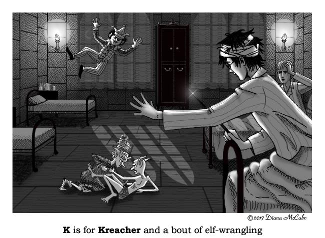 K is for Kreacher