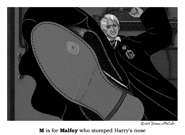 M is for Malfoy