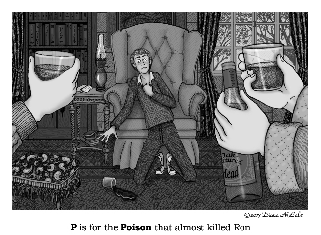 P is for Poison