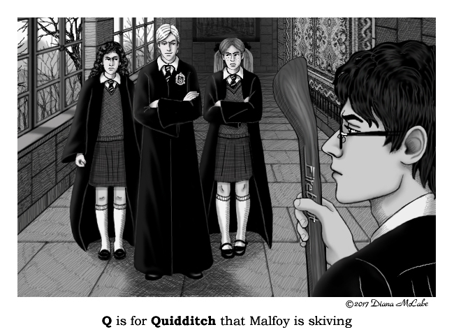 Q is for Quidditch