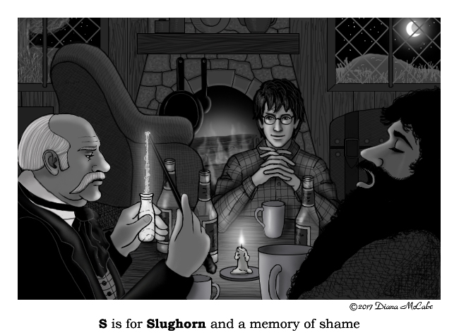 S is for Slughorn