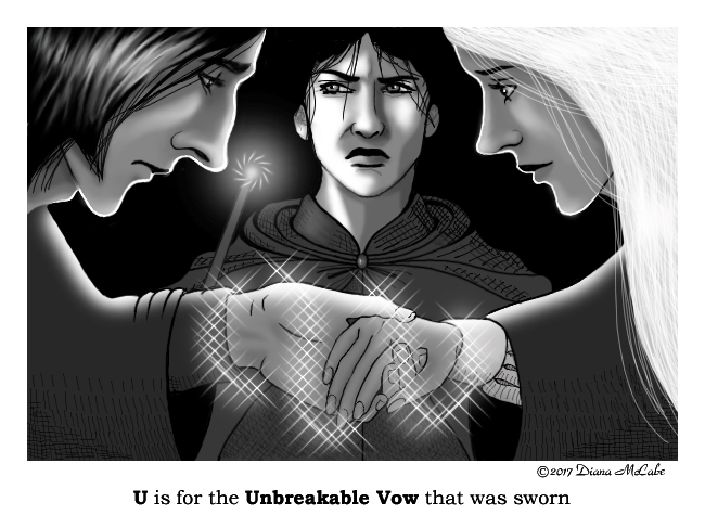 U is for Unbreakable Vow