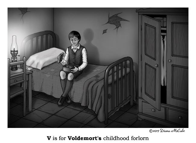 V is for Voldemort