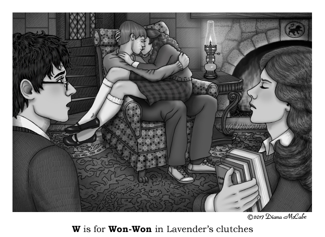 W is for WonWon