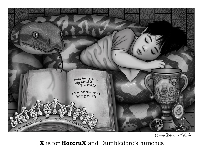 X is for Horcrux